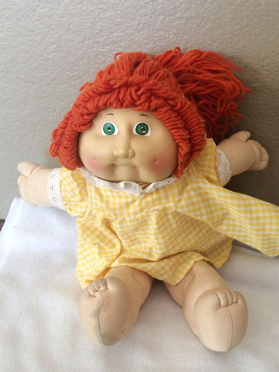 Vtg Girl 1978 1982 Cabbage Patch Baby Doll 15 Movable Etsy Cabbage Patch Babies Baby Dolls Cabbage Patch Dolls