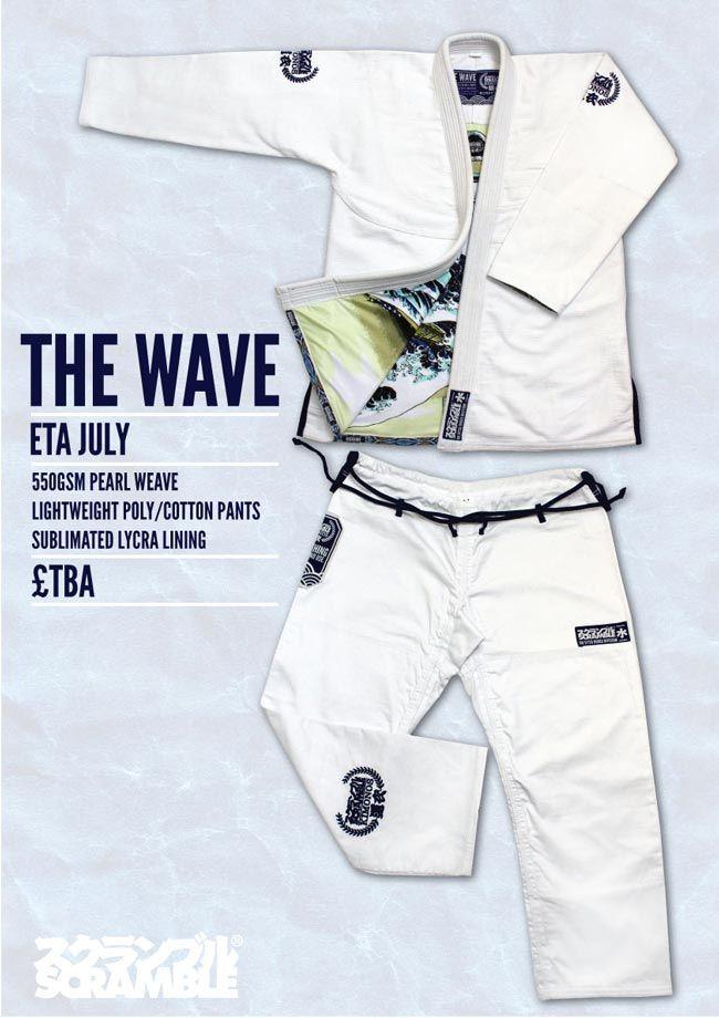 """Scramble """"The Wave"""" Gi, my soon to be """"Mark IV"""""""