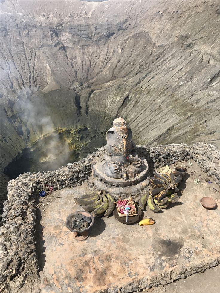 Genesha Statue on Bromo Mountain, Surabaya - Indonesia