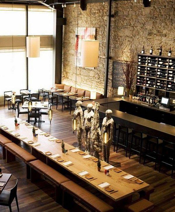 Amazing-Vintage-Restaurant-Design-Stone-Wall-Sculpture-Ornament