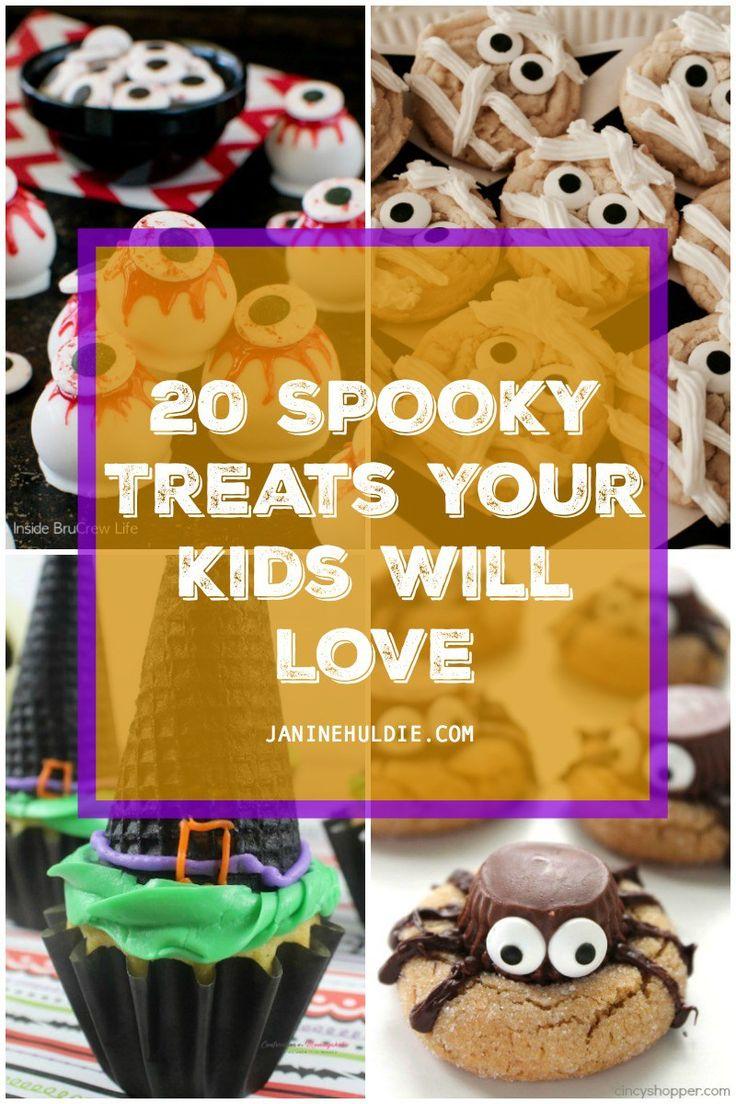 20 Spooky Treats Your Kids Will Love