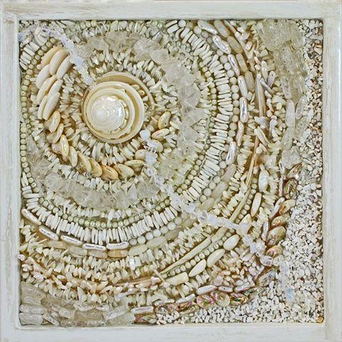 33 best ideas about 2d seashell patterns on pinterest for Seashell mosaic art