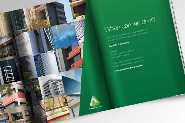 Engineering Brochure Design by Wowwee Design the Sydney Design Agency