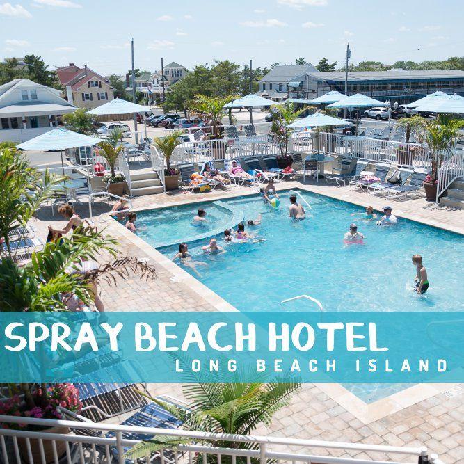 Spray Beach Hotel Beachfront Hotel On Long Beach Island New