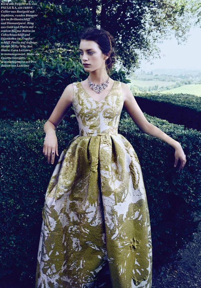"""Princess Charming"" by Pasquale Abbattista for ELLE Germany October 2015"