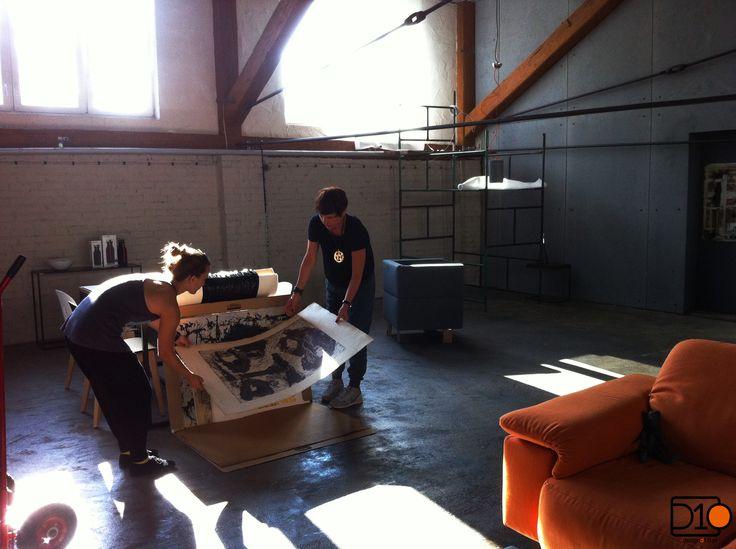 Wczoraj Gosia Malina wpadła do D10 pokazać swoje prace. Bardzo nam się spodobały i na pewno będziecie mogli już wkrótce je u nas nabyć. ;)