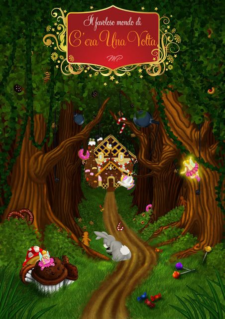Una buffa casetta di marzapane  #favole #fantasia #pasticceria #racconti #fiabe #dolci #bambini #infanzia #hanselegretel