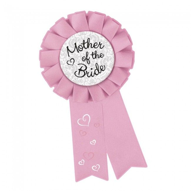 Mother of the Bride Hens Party Rosette Badge