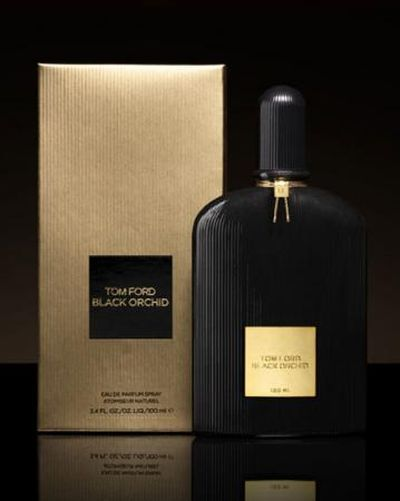 **Black Orchid Tom Ford for women (The top notes are French jasmine, black truffle, ylang-ylang, black currant and effervescent citrus. In the floral-spicy heart, dwells the Tom Ford's black orchid, imaginary more than real, and the base combines woodsy notes (patchouli and sandalwood), dark chocolate, incense, amber, vetiver, vanilla and balsam.)