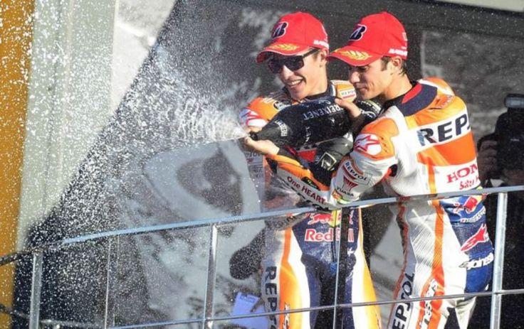 Aneh Sekali Melihat Honda Juga Rayakan Kemenangan Lorenzo