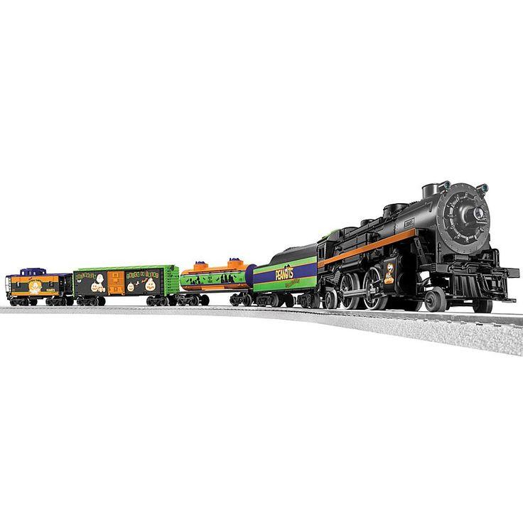 Lionel Trains Peanuts Halloween LionChief Ready-to-Run O-Gauge Train Set