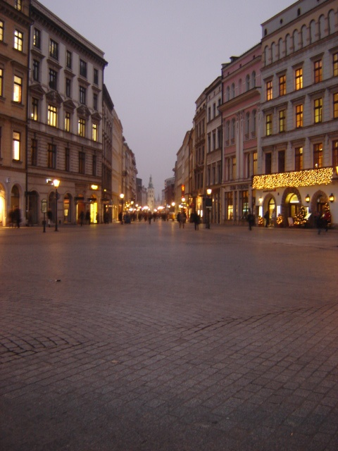 Krakow Poland @ dusk