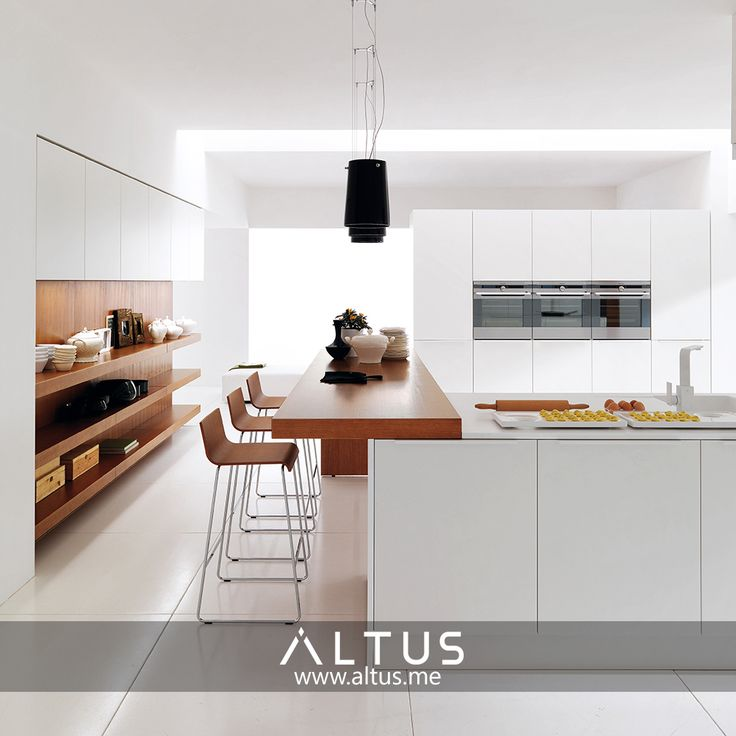 Exceptional Alineal System By Euromobil, Made In Italy. Www.Altus.me #Kitchens