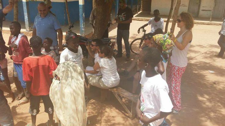 Recien llegados a Guinea, podíamos descansar!