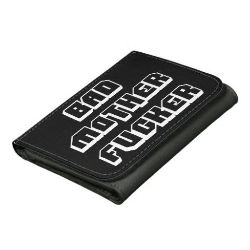 Bad Mother Fucker Wallet #pulp #fiction #bad #mother #fucker #wallet #quote