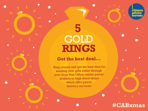 Ring around and get the best deal for sending gifts #CABxmas