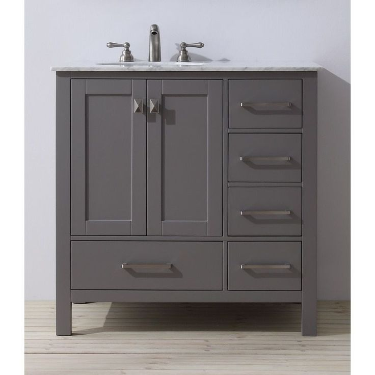 25 best ideas about 36 inch bathroom vanity on pinterest - 72 inch single sink bathroom vanity ...
