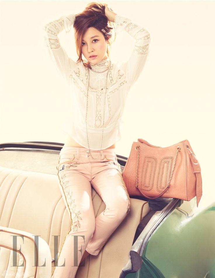 김하늘 Elle 한국, 2013년 3월 (Kim Ha-Neul in Elle Korea, March 2013)
