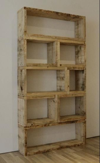 upcycled pallet ideas - Cool Shelving Ideas