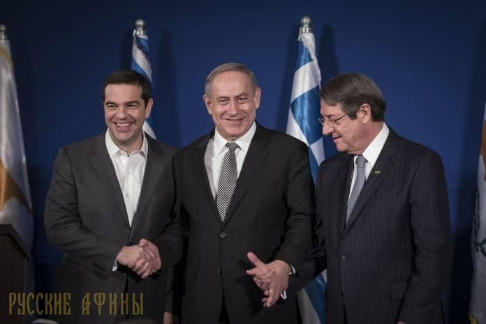 Премьер-министр Израиля прибыл в Грецию http://feedproxy.google.com/~r/russianathens/~3/0FtDo2DFlRY/21655-premer-ministr-izrailya-pribyl-v-gretsiyu.html  Премьер-министр Израиля Биньямин Нетаниягу 14 июня прибыл с рабочим визитом в Грецию. В Салониках состоится третья израильско-греческая межправительственная встреча (G2G) и третья трёхсторонняя встреча лидеров Греции, республики Кипр и Израиля: Алексиса Ципраса, Никоса Анастасиадиса и Беньямина Нетаниагу.