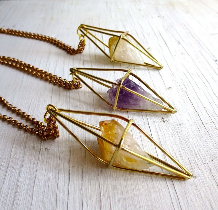 """We live in a world of refined sugar, synthetic clothing, and faux everything. So it's imperative that we take a step back and get in touch with our roots: get lost in nature, eat something un-processed and check out some gorgeous pieces of jewelry made with natural gemstones and crystals. Whether you're looking for a simple accent or a big statement piece, look no further than these """"au natural"""" gemstones to take your collection to a more refined place."""