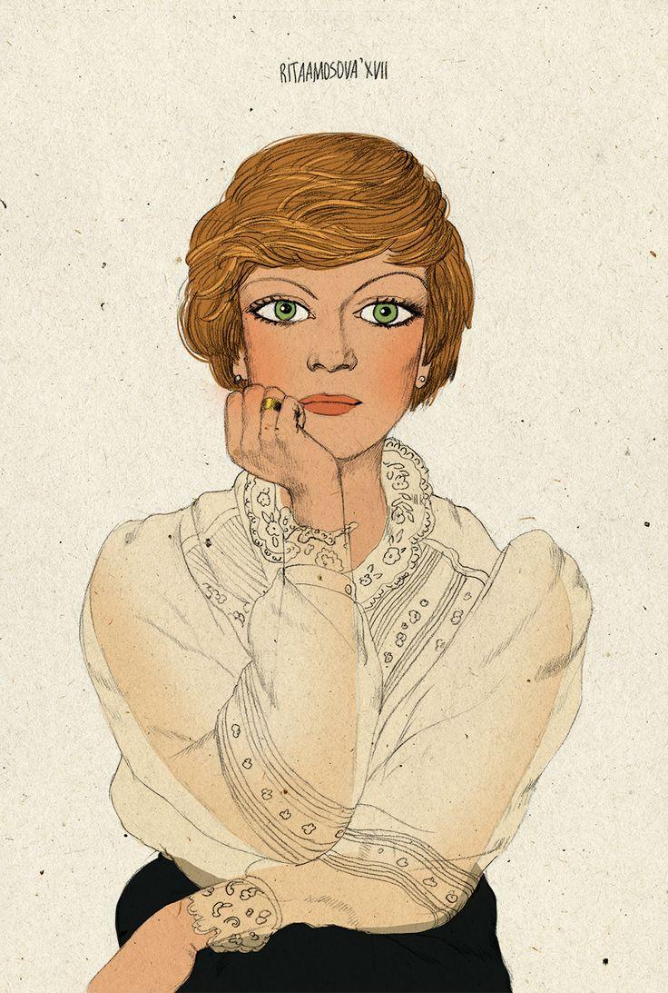 Russian actresses on Behance Алиса Фрейндлих