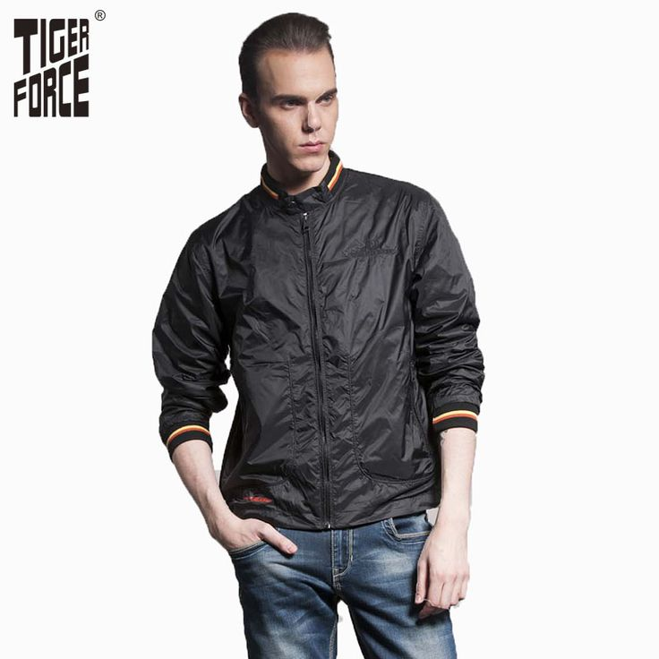 Find More Jackets Information about TIGER FORCE 2016 Men Fashion Casual Jacket Spring Sport Coat Motorcycle Jacket Men Black Softshell Jacket Free Shipping 3633,High Quality collar chiffon,China collar tight Suppliers, Cheap nylon anchor from TIGER FORCE on Aliexpress.com