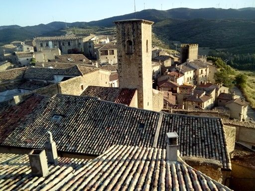 Atardecer en Sos del Rey Catolico(Aragon-España)
