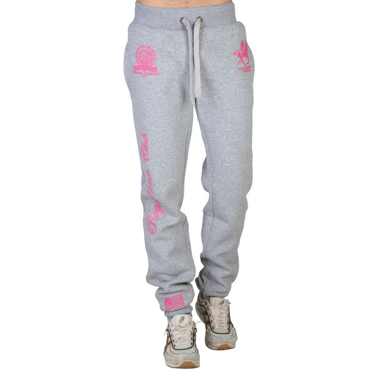 Geographical Norway Malaktica_pant_man_fluoA_bgrey_pink - IWG Shop