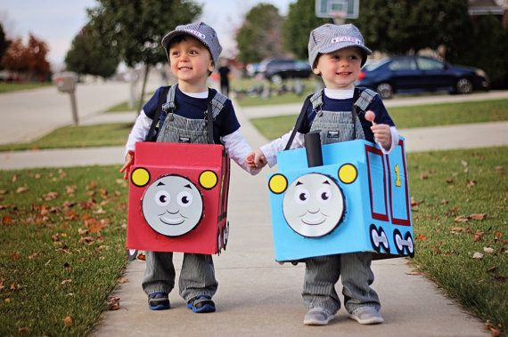 Halloween Costume Box Train Not Included Train by AllAboardWhistle