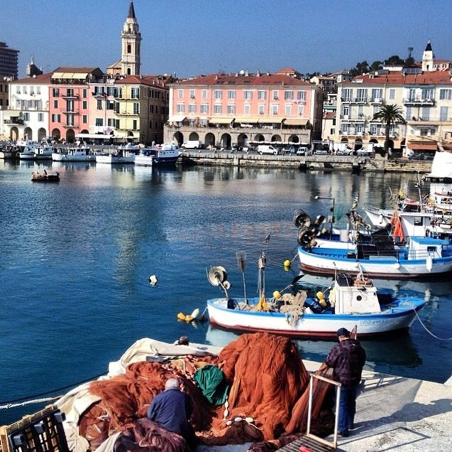 "Imperia and its harbour at ""Imperia Oneglia"": that's Italian Western Riviera.  This beautiful spot is located just 30min drive from La Meridiana in Garlenda.  Photo credit by F.Giuse"