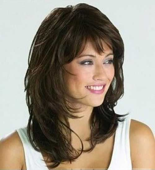 medium layered haircuts for over 50 best 20 haircuts ideas on shaggy 5522 | f0f831aa155b7d0b6feea4d2a460b982 medium hairstyles with bangs medium layered haircuts
