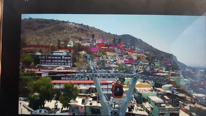 Ahora nos toco trabajar desde el EdoMex primer parada #Ecatepec cubriendo #EleccionesEdoMex #Teleferico  #DronesMichoacan #Elecciones2018 #Elecciones #MORENA #PRI #PAN #PRD