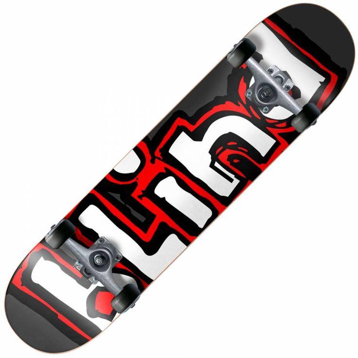 Blind Skateboards Blind Matte OG Logo Complete Skateboard 8.0 ...