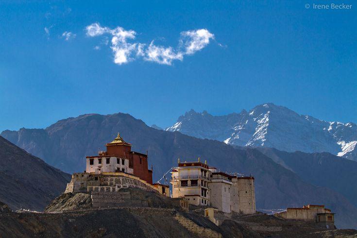Monastério de Themisang, localizado na região de Ladakh, no estado de Jamu e Caxemira, Índia.  Fotografia: Irene Becker.