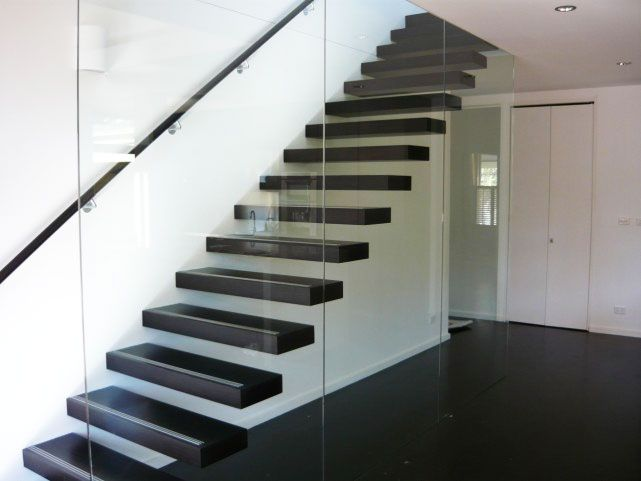 Floating Staircase. Eric Jones - Leading open staircase manufacturer in Victoria offering stylish open staircase, Call us for affordable floating staircase