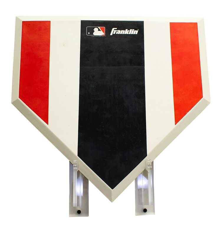 Baseball Home Plate Wall Mount Bracket MLB, NCAA, and more!