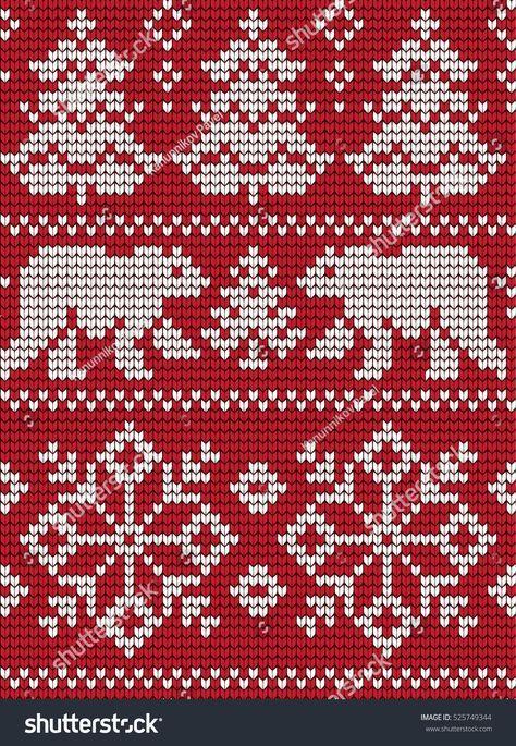 20 ideas knitting fair isle chart christmas stockings