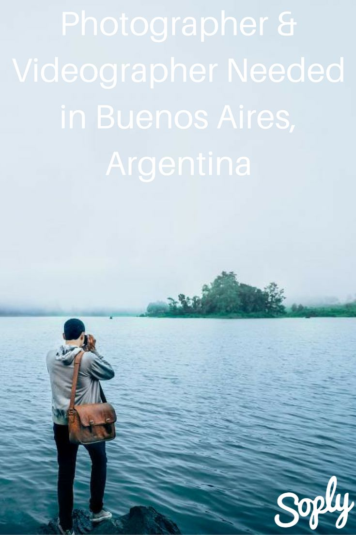 Photographer and/ or videographer needed to capture settings in Buenos Aires, Argentina in photo essay or short video format. See the creative job and apply by clicking the pin!