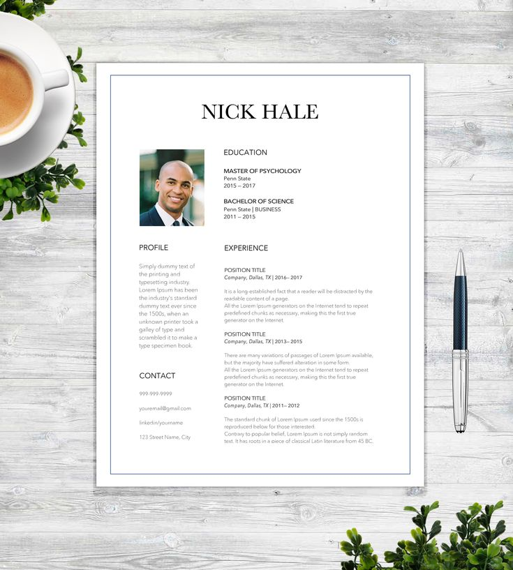 The 25+ best Resume templates for word ideas on Pinterest - references on a resume template