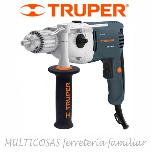 Taladro Truper industrial alta potencia 1/2 pulgadas 1050 watts ROTO-1/2NX. www.multicosas.com.uy