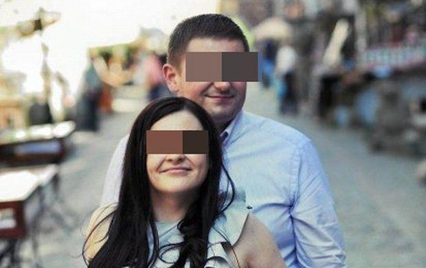 Marcin P. z żoną Katarzyną, Amber Gold, przed aresztowaniem