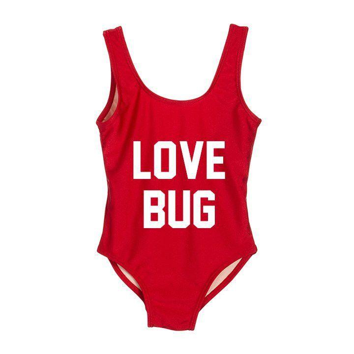 a6cfb95b5f16c LOVE BUG Women s One Piece Swimsuit