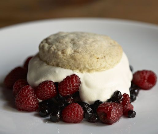 James Beard's Strawberry Shortcake
