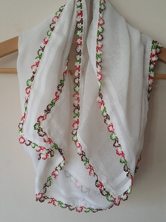 Check out this item in my Etsy shop https://www.etsy.com/listing/290513299/turkish-scarf-cheesecloth-oya-organic