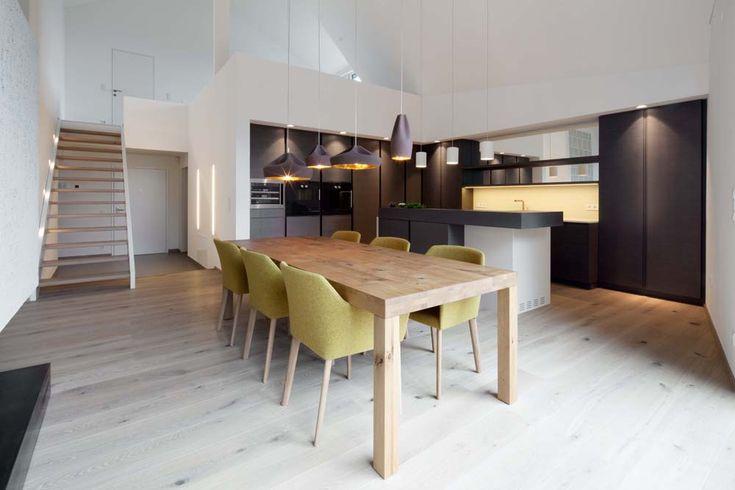 Penthouse B by destilat architecture+design | Inspirationist
