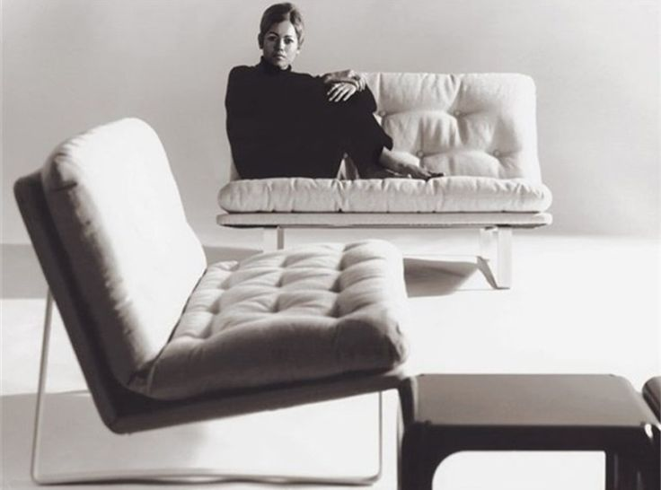 Kho Liang Ie, sofa C684 for Artifort, 1968