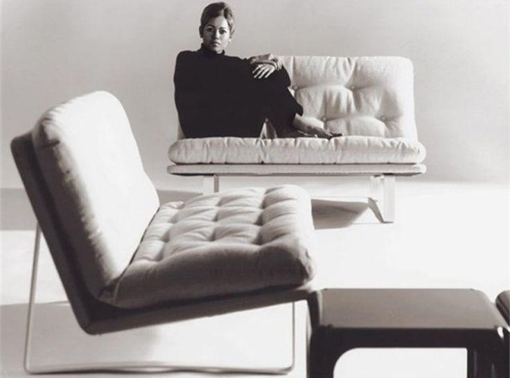 Kho Liang Ie, sofa C684 for Artifort, 1968