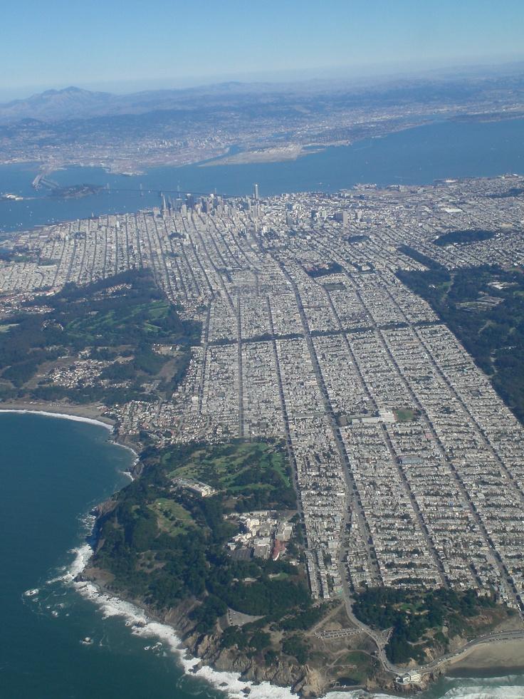 San Francisco. The grid on steroids. –QM