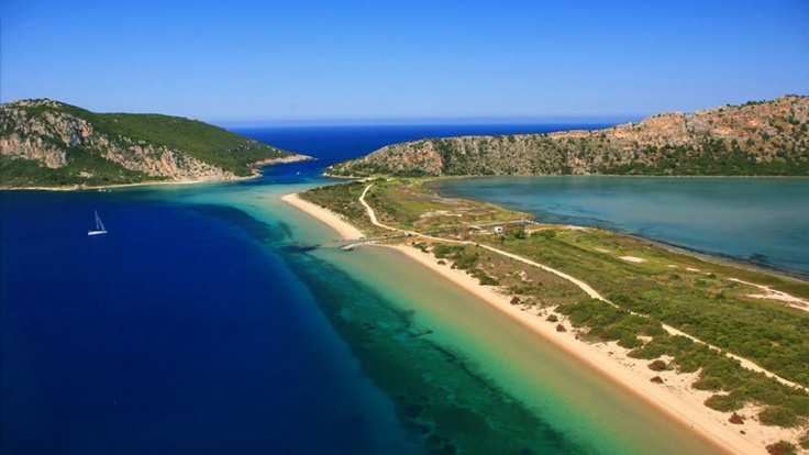#Voidokilia #bay #beach #EliteCItyResort